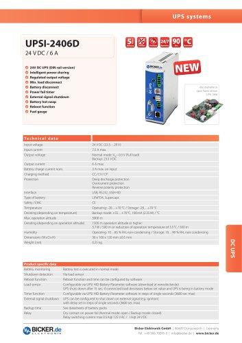 UPSI-2406D