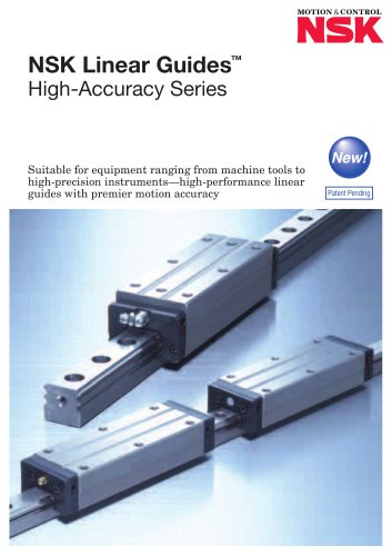 LINEAR GUIDES - HIGH-ACCURACY SERIES