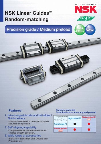 LINEAR GUIDES - RANDOM-MATCHING