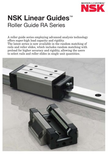 LINEAR GUIDES - ROLLER GUIDE RA SERIES