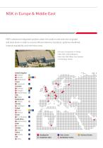 Nsk In Europe Nsk Europe Ltd Pdf Catalogs Technical Documentation Brochure