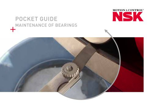 Pocket Guide - Maintenance of Bearings