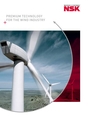 Premium technology for the wind industry