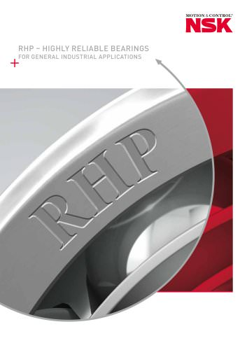 RHP - Highly reliable bearings