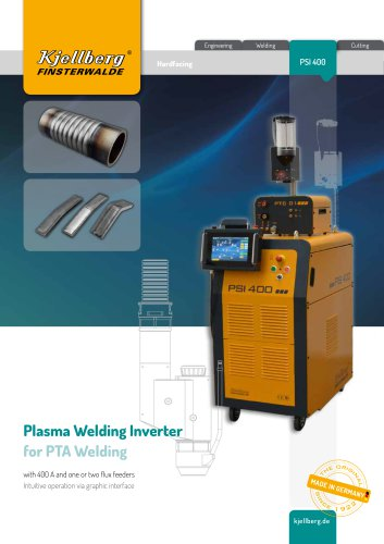 Plasma Power Source PSI 400