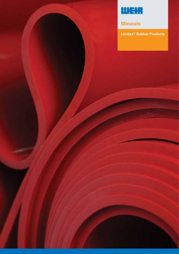 Linatex Rubber Products Brochure