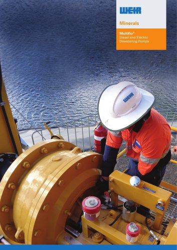 Multiflo Diesel and Electric Dewatering Pumps Brochure