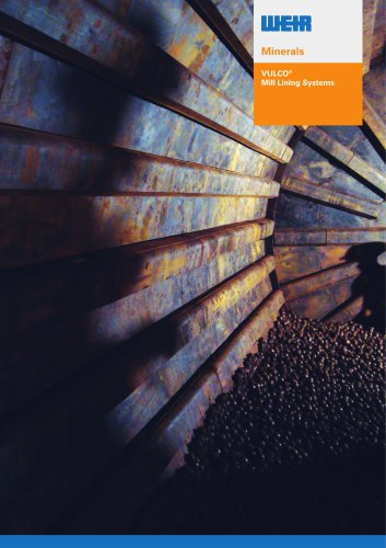 Vulco Mill Lining Systems Brochure