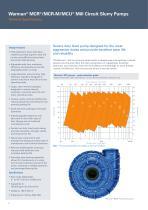 Warman Horizontal Slurry Pump Brochure - 6