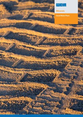 Weir Minerals Sand Wash Plant Brochure