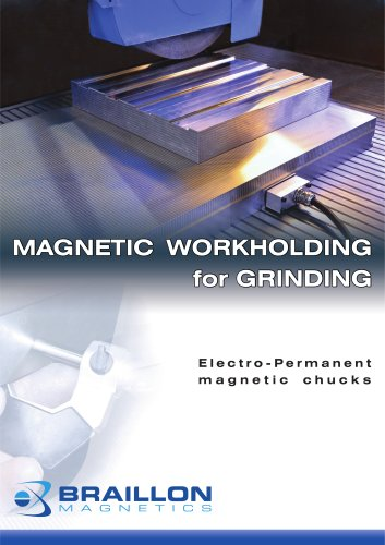 Electro-Permanent magnetic chucks for grinding