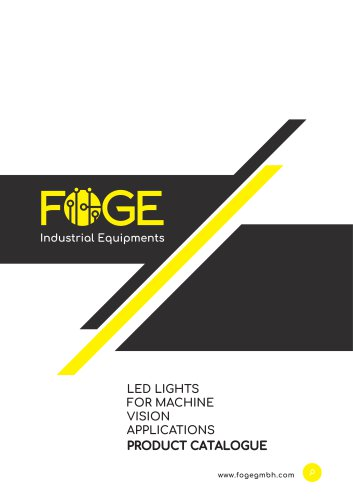 LED Lights for Machine Vision Applications Catalogue