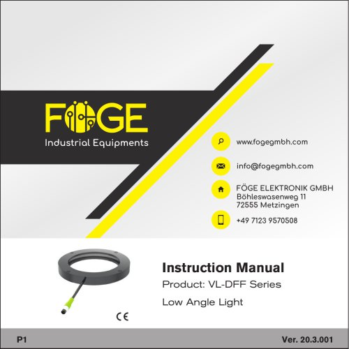 Low Angle Light VL-DFF Series