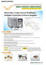 Linear DC Weld Controls - MDA-10000A