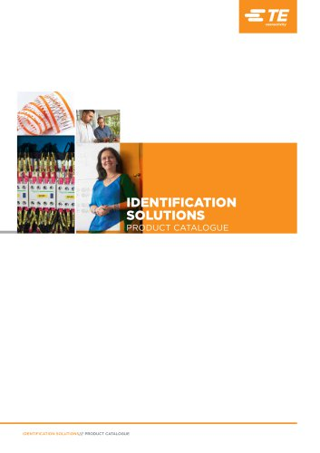 IDENTIFICATION SOLUTIONS PRODUCT CATALOGUE