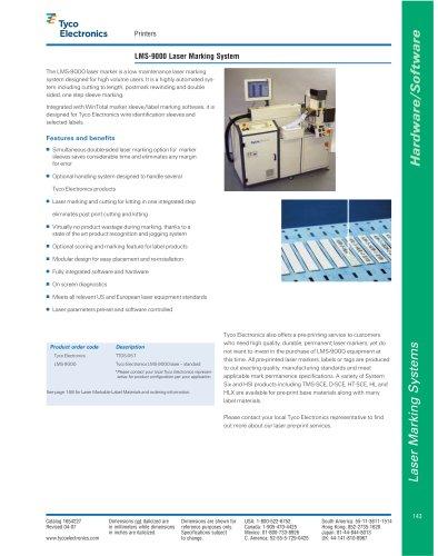 LMS-9000 Laser Marking System