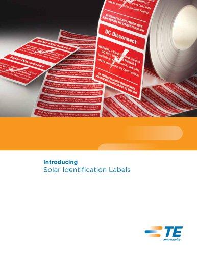 Solar Identification Labels