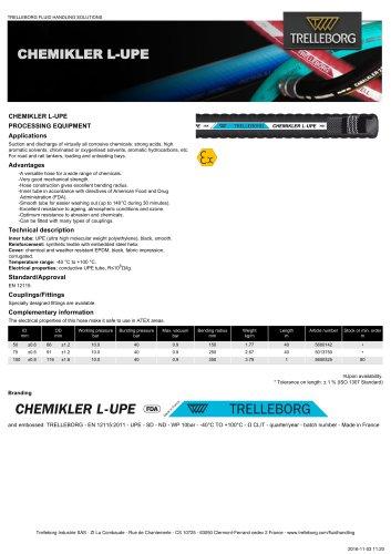 CHEMIKLER L-UPE