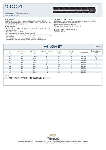 AG 1000 HT