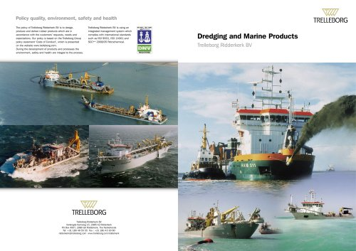 Dredging & Marine products