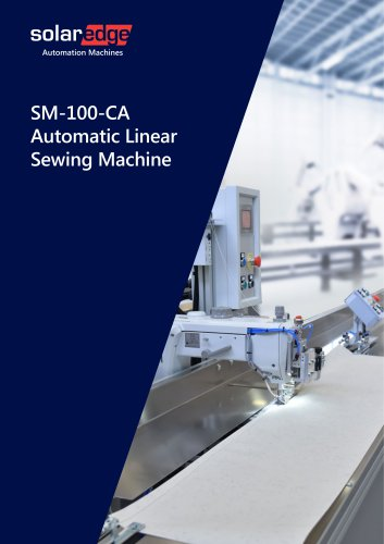 Automatic Linear Sewing Machines - SM-100 series