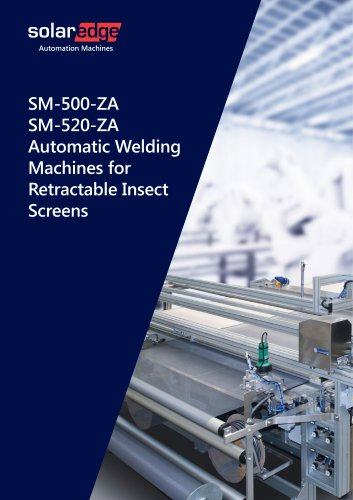 Automatic Welding Machines for Retractable Insect Screens - SM500 series