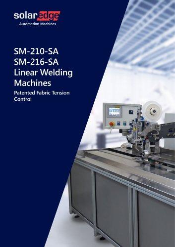 Hot Air, Ultrasonic Linear Welding Machines - SM216 series