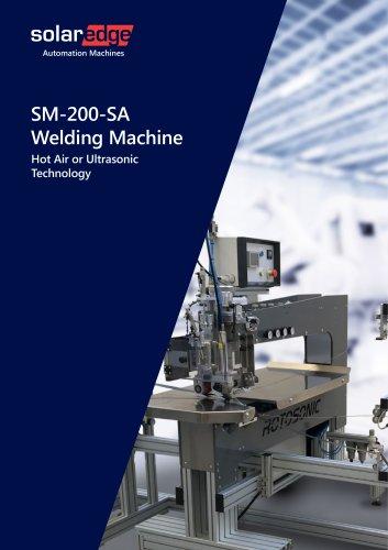 Hot Air - Ultrasonic Welding Machines - SM200 series