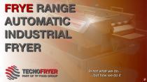 FRYE RANGE AUTOMATIC INDUSTRIAL FRYER
