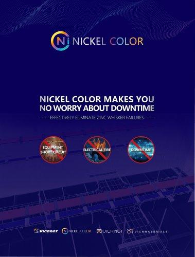 VICHNET NICKEL COLOR CABLE TRAY