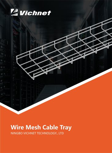 VICHNET WIRE MESH CABLE TRAY INSTALLATION