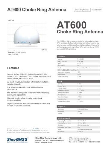 AT600 Chock Ring Antenna