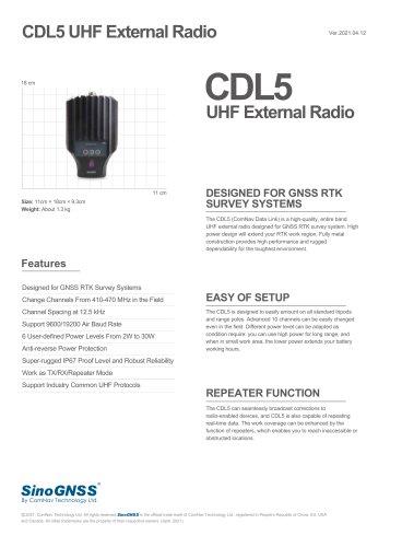 CDL5 External Data Link