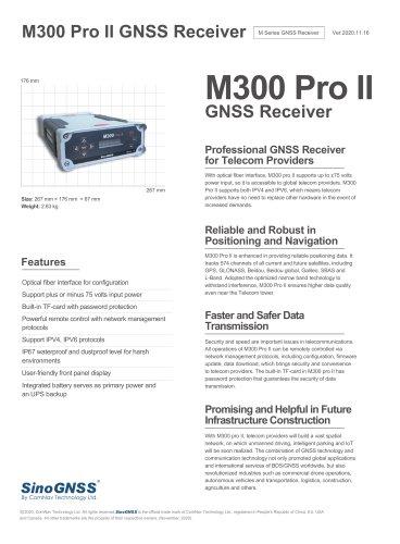 M300 Pro II GNSS Receiver
