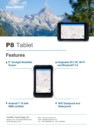 P8 Tablet