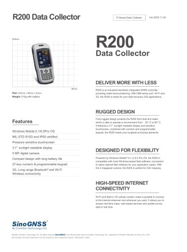 R200 Data Collector