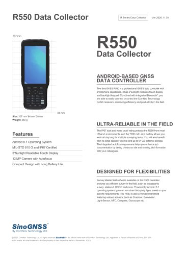 R550 Data Collector