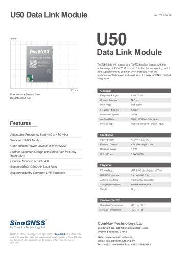 U50 Data Link Module