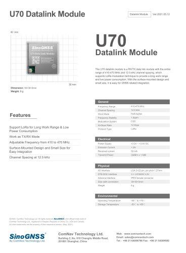 U70 Datalink Module