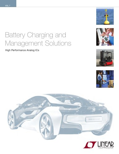 Battery Charging and Management Solutions