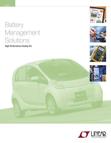 Battery  Management Solutions