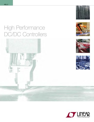 High Performance  DC/DC Controllers