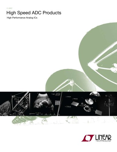 High Speed ADC Products Brochure