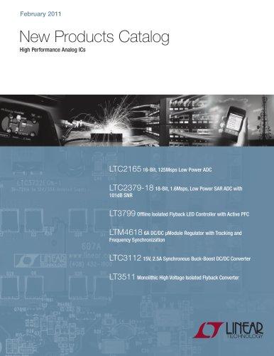 New Products Catalog High Performance Analog ICs
