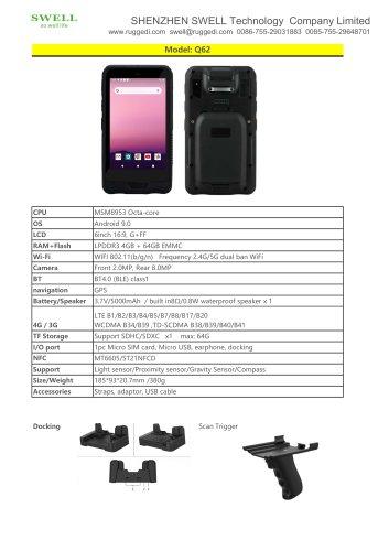 SWELL Q62 PDA Pocket PC