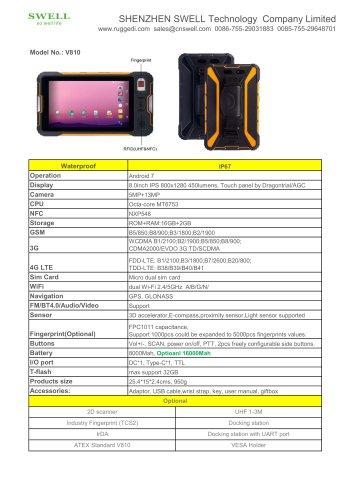 SWELL V810 mobile computing PDA
