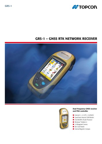 GNSS RTK Network Receiver (GRS-1)