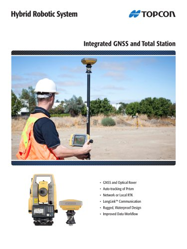 Integrated GNSS and Total Station