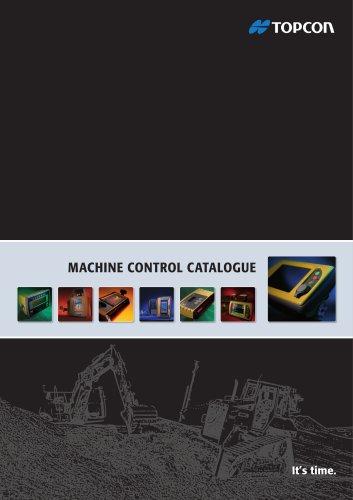 MACHINE CONTROL CATALOGUE