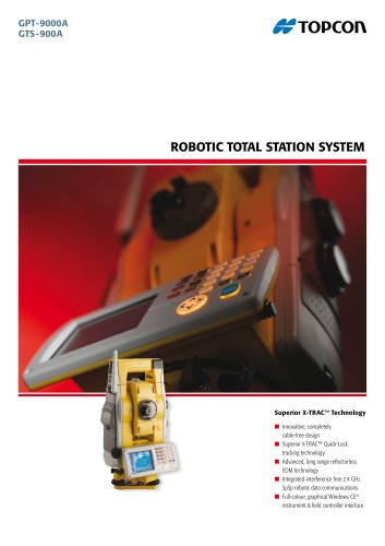 Robotic Total Station System (GPT-9000A, GTS-900A)